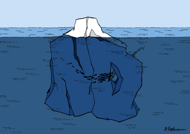 Tip of the no iceberg